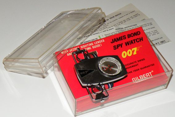 Moeris & Gilbert, 007 watches, 007 relógios
