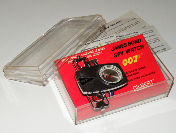 Moeris & Gilbert, 007 watches, 007 relógios