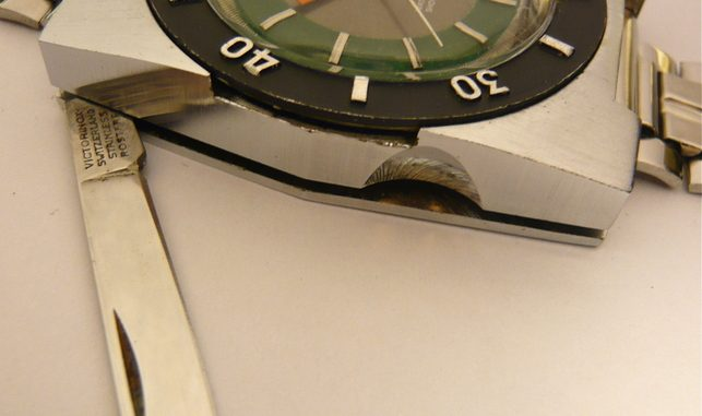 1970 Sicura Safari Knife Watch