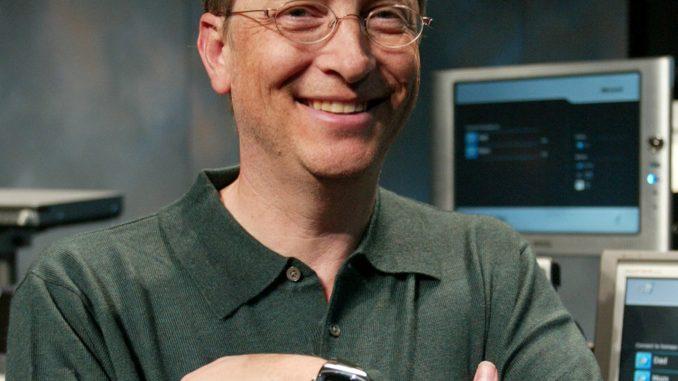 Bill Gates, Microsoft Surface Watch