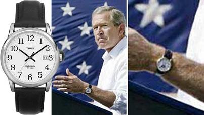 Timex, George Bush