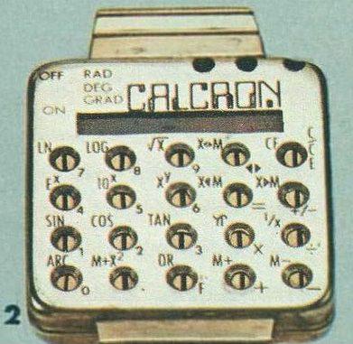 Calcron Calculator Watch, 1975
