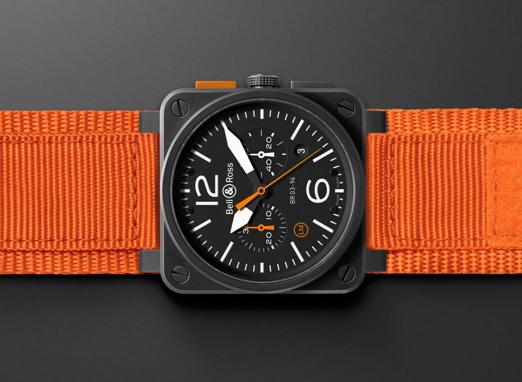 Bell & Ross BR 03-94 Carbon Orange