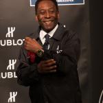 Pelé e o seu Hublot