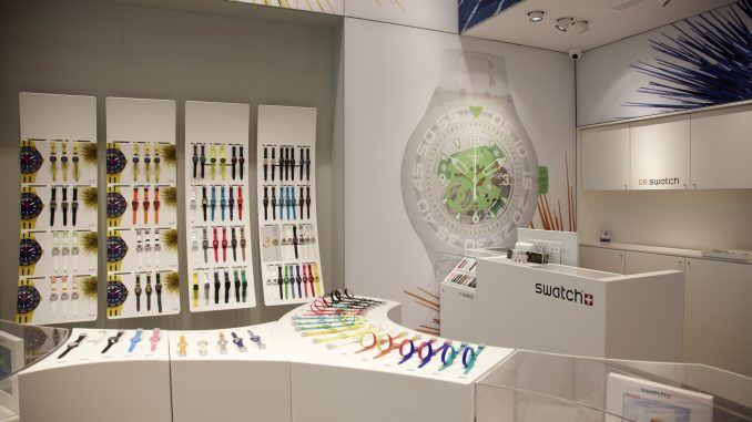 Swatch, Centro Colombo