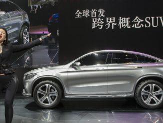 Mercedes Concept Coupe SUV