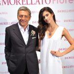 Sara Sampaio e Massimo Carraro, CEO da Morellato