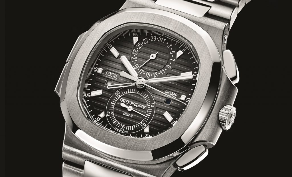 Patek Philippe Nautilus Travel Time Chronograph, Ref. 5990/1A-001