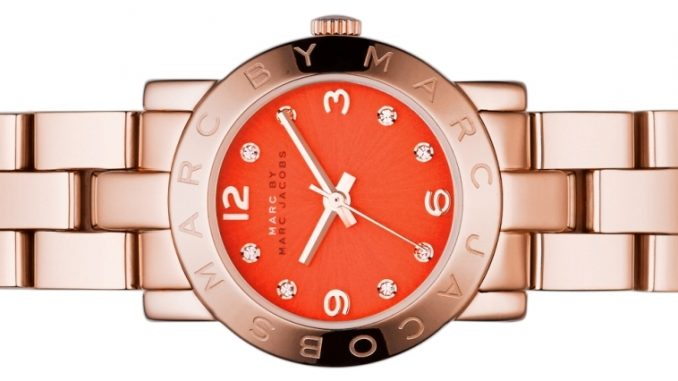 Os mini-relógios da Marc Jacobs