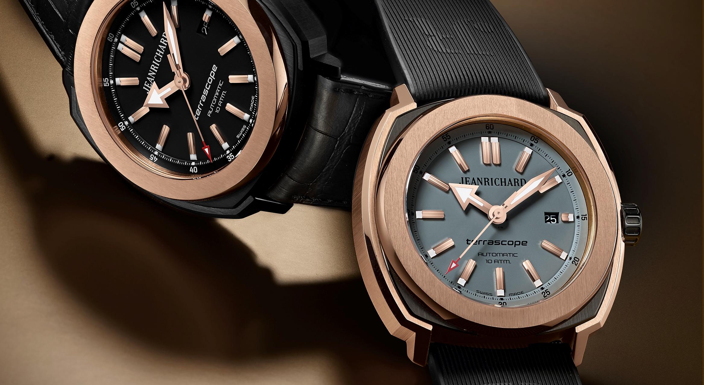 Relógio JeanRichard Terrascope