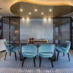 Azimut Grande 95RHP - Sala de jantar