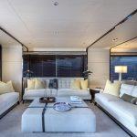 Azimut Grande 95RHP - Salão interior