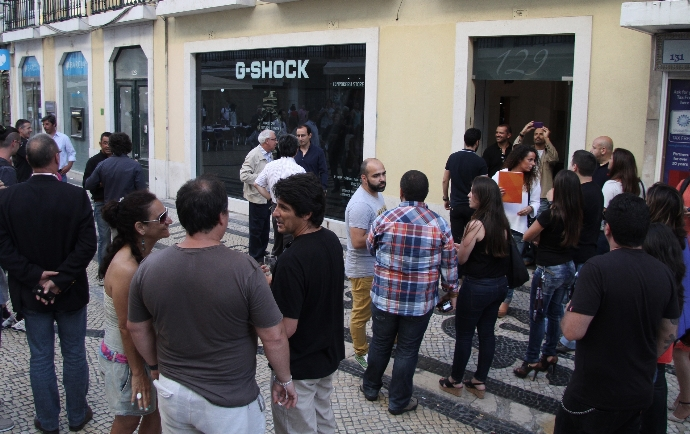 A nova pop-up store para relógios G-SHOCK