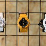 Os relógios G-SHOCK em exposição