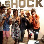 Alguns convidados VIP e os seus relógios Casio G-SHOCK