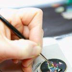 O processo de realização de um mostrador do Hermès Arceau Cheval d'Orient