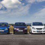 As cinco gerações do Opel Corsa