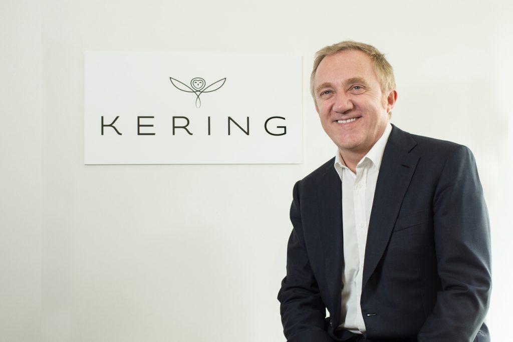François-Henri Pinault, presidente e CEO do Grupo Kering