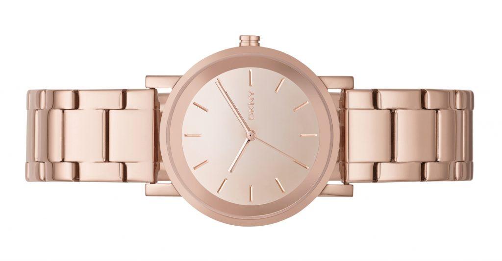 A elegância dos relógios DKNY