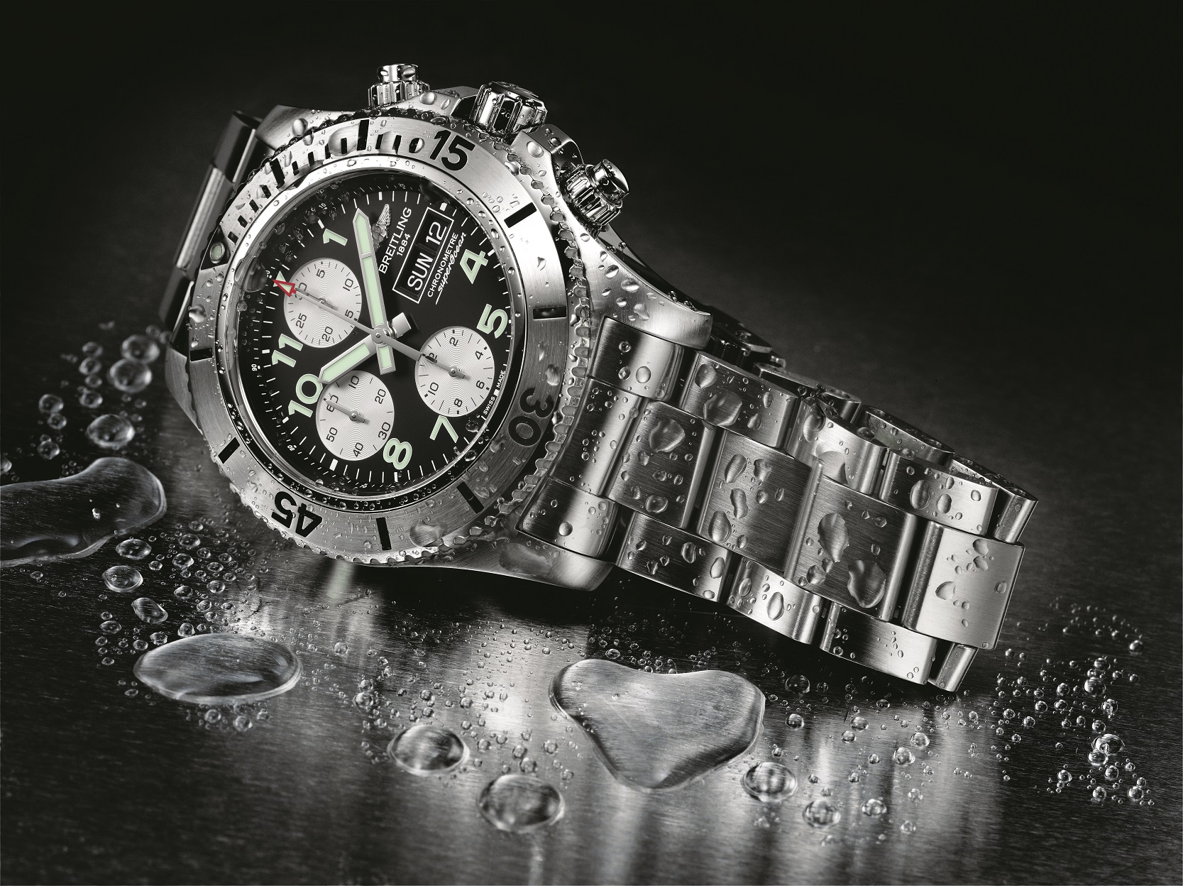 O novo relógio Breitling Superocean Chronograph Steelfish