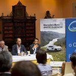 Apresentação em Lisboa do Mercedes-Benz 4MATIC Experience, organizado pelo Clube Escape Livre