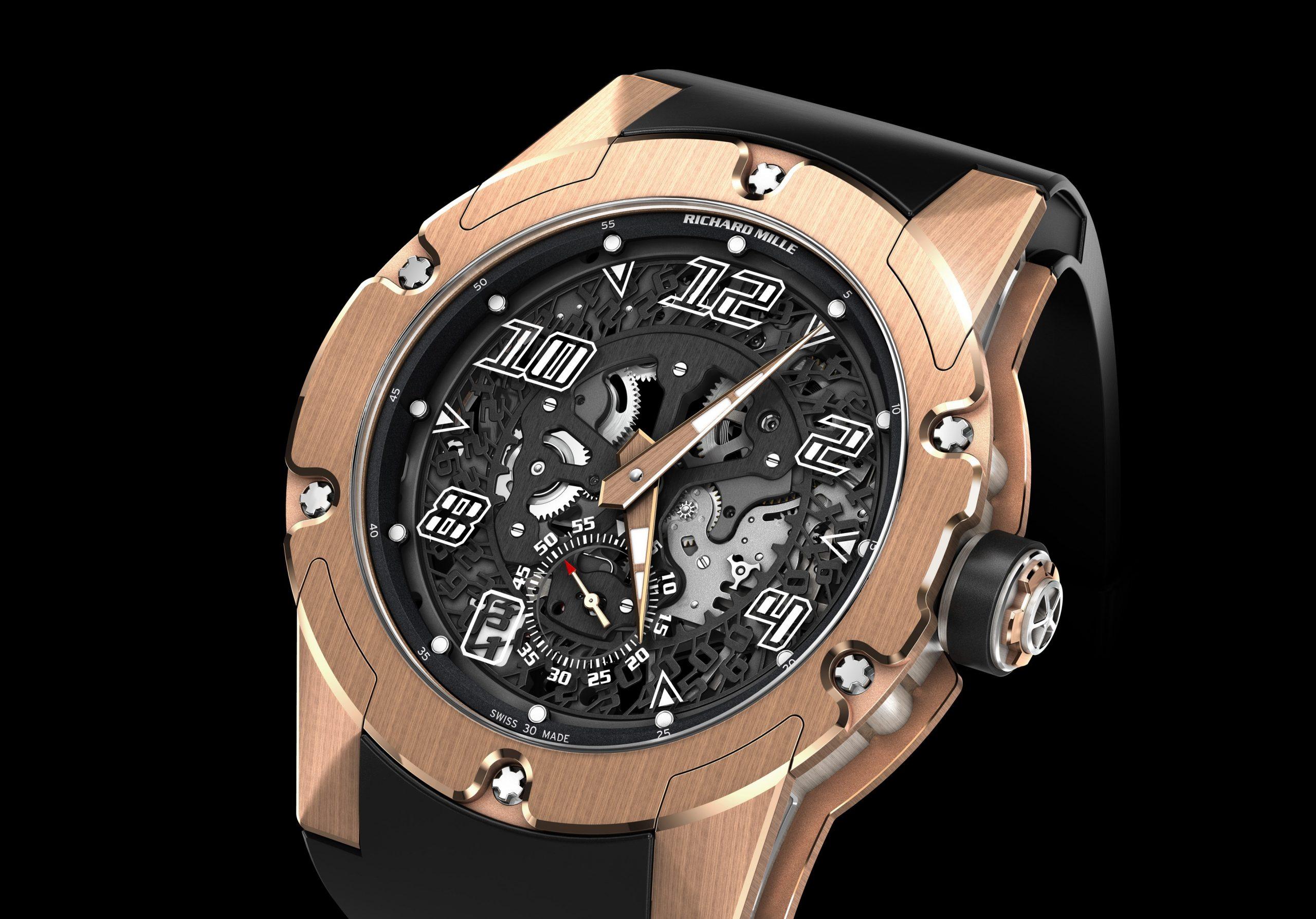 O novo relógio da Richard Mille, o RM33-01