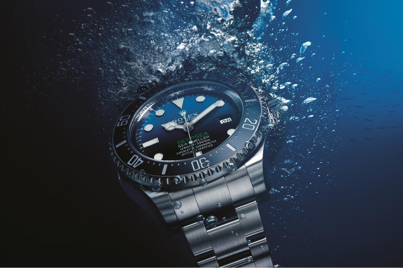 O novo relógio da Rolex, o Deepsea