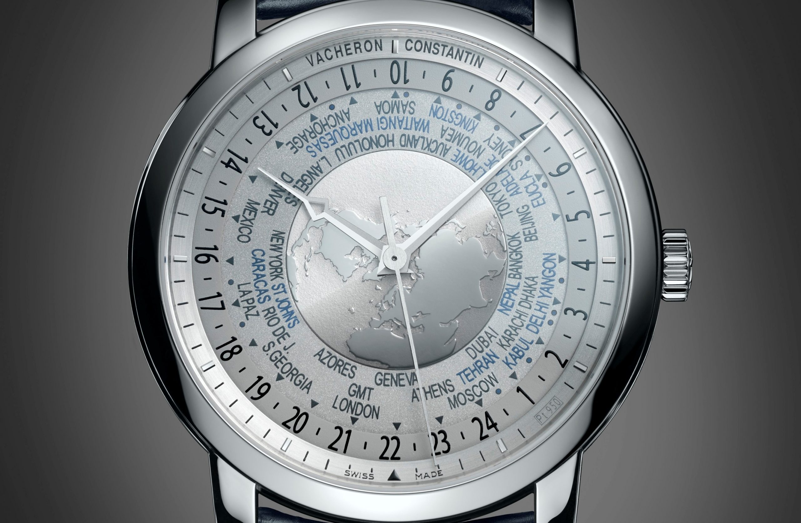 Vacheron Constantin Traditionnelle Horas do Mundo
