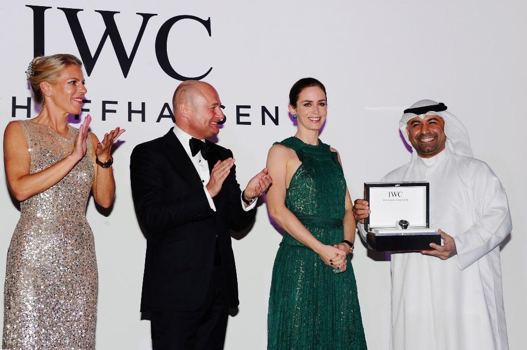 Emily Blunt entrega IWC Filmmaker Award