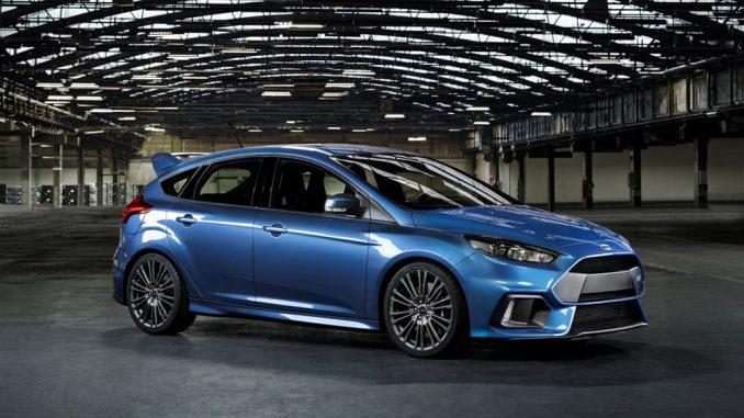 O novo Ford Focus RS