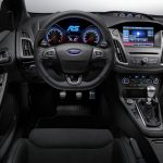Interior do novo Ford Focus RS