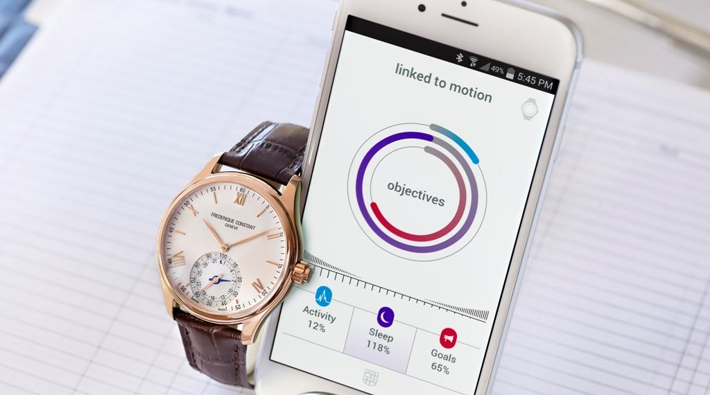 O Smartwatch da Frederique Constant
