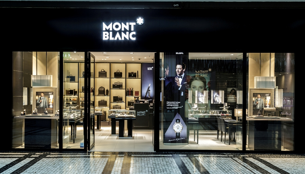 A nova Boutique Montblanc no Centro Comercial NorteShopping