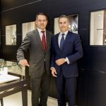 Nuno Miguel Teixeira (Brand Manager Montblanc Portugal) e Olivier Laurian (Business Development International Director Montblanc)