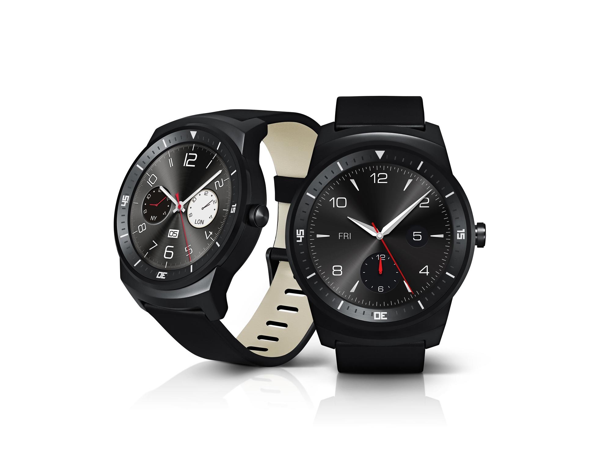 O novo LG G Watch R