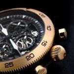 Timemaster Chronograph 20 Skeleton Gold em edição limitada