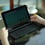 O novo LG Rolly Keyboard