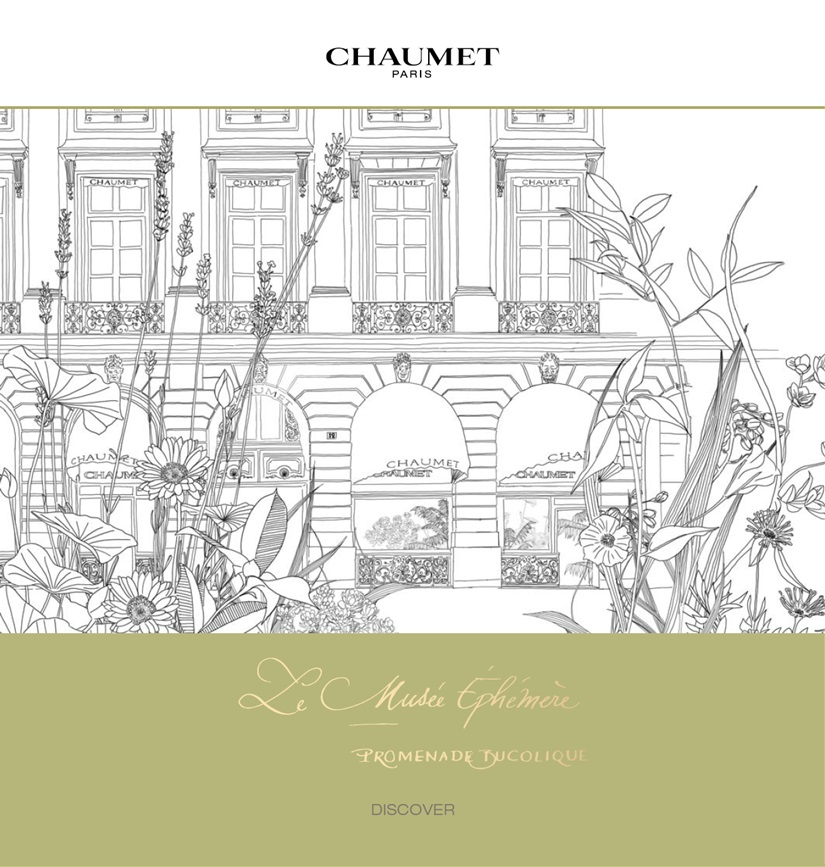 """Um passeio no """"jardim"""" da Chaumet"""