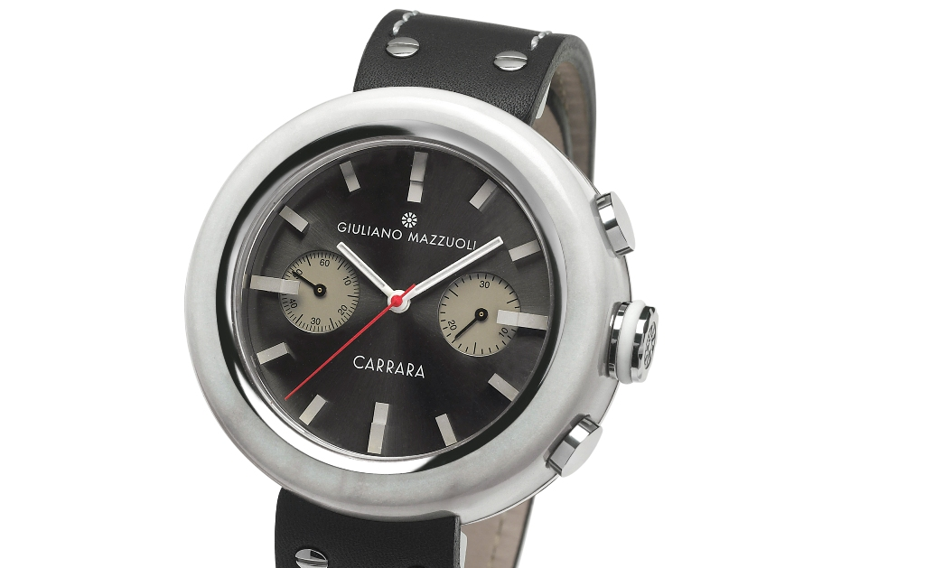 Anselmo 1910 lança relógio Carrara, de Giuliano Mazzuoli