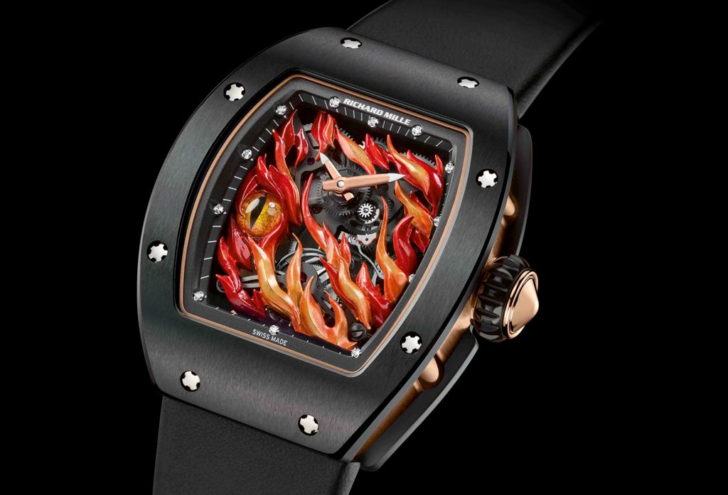 O novo Richard Mille RM 26-02 Turbilhão Evil Eye