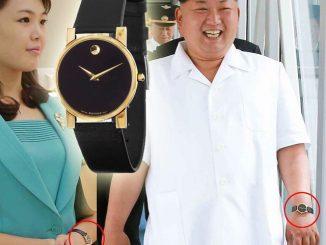 Kim Jong-un, Ri Sol-ju, Movado