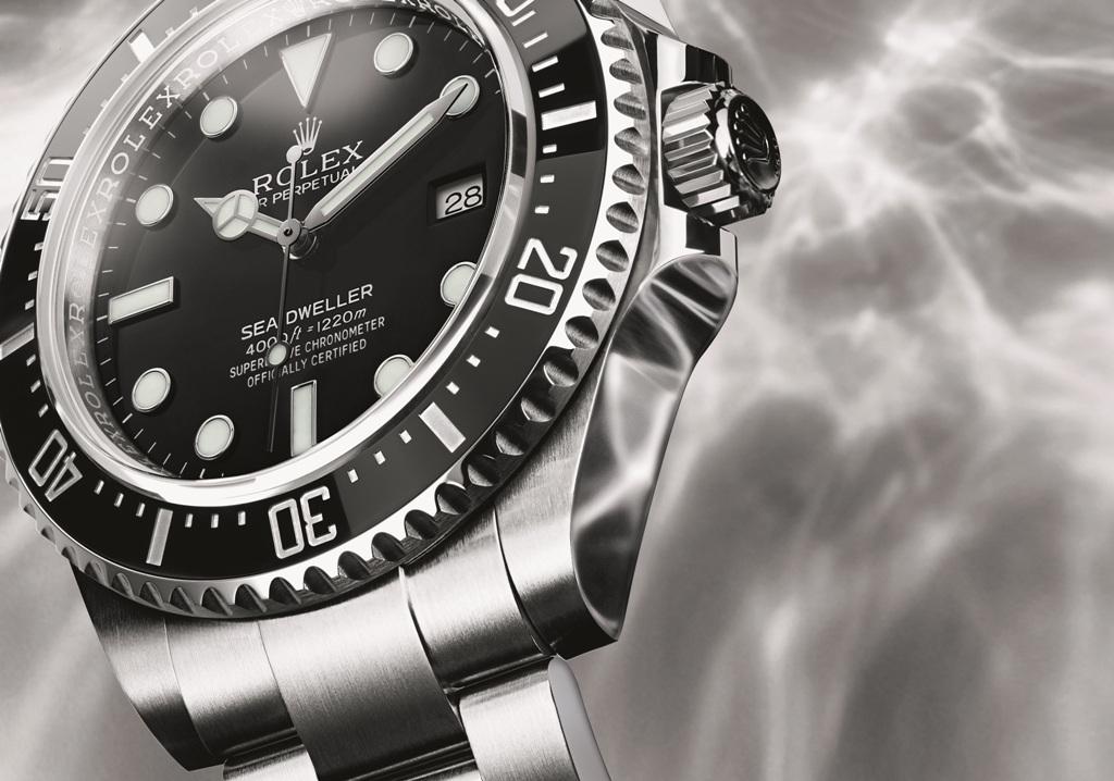 O renascer da lenda Rolex Oyster Sea-Dweller 4000