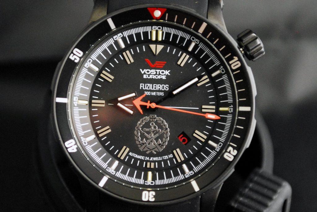Vostok Europe em série limitada para os fuzileiros
