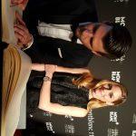 Olivia Palermo, e o modelo Johannes Huebl