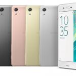 Os novos Sony Xperia X Perfomance