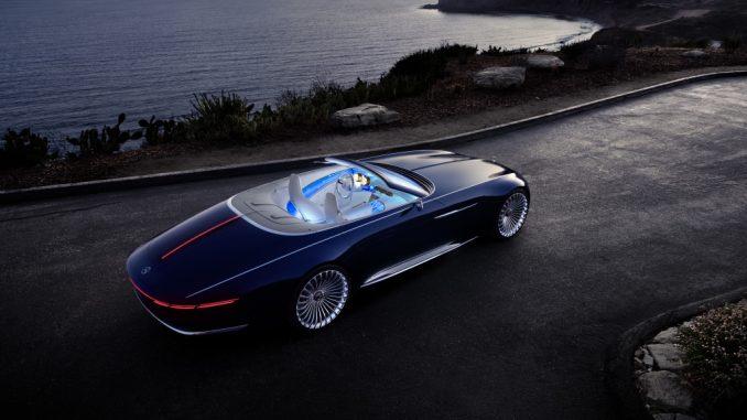 """Pebble Beach """"apresenta""""  Vision Mercedes-Maybach 6 Cabriolet"""
