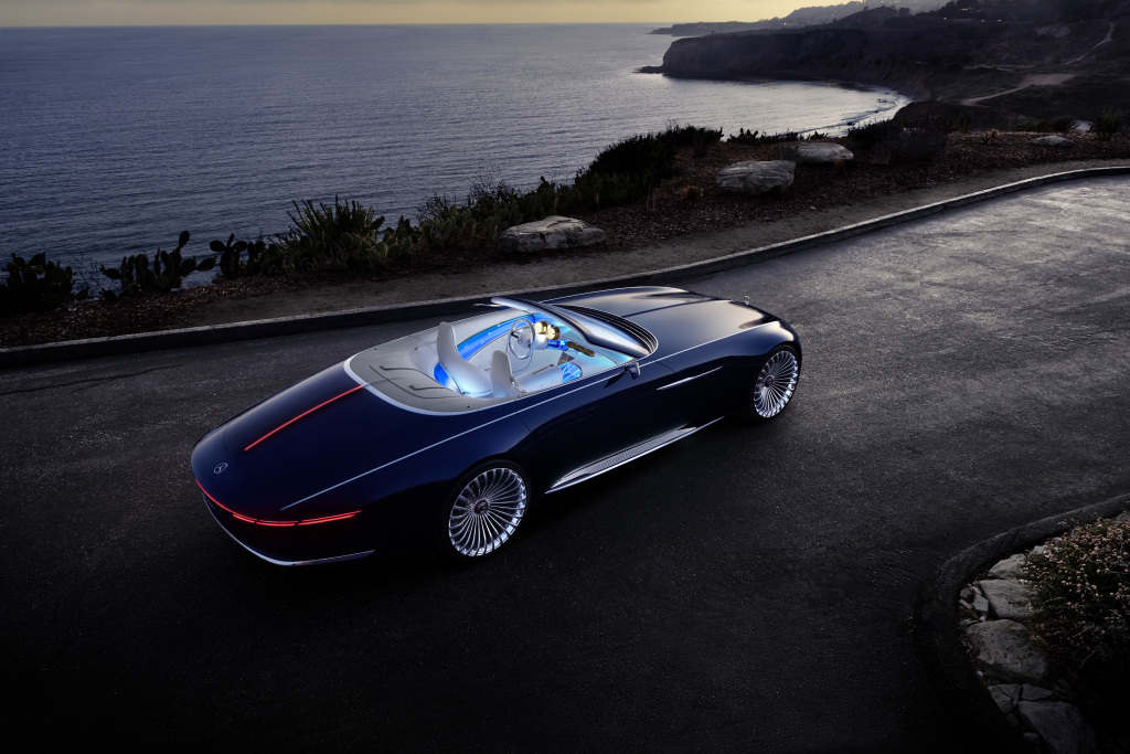 "Pebble Beach ""apresenta""  Vision Mercedes-Maybach 6 Cabriolet"